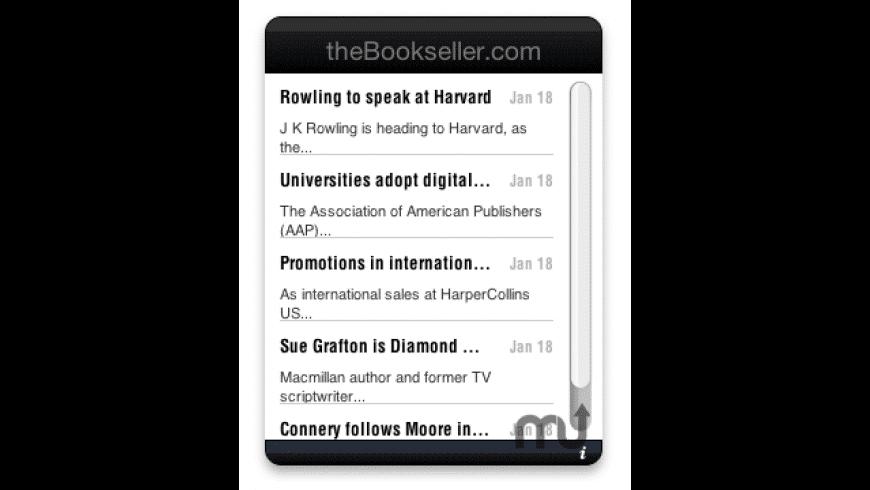 theBookseller.com for Mac - review, screenshots