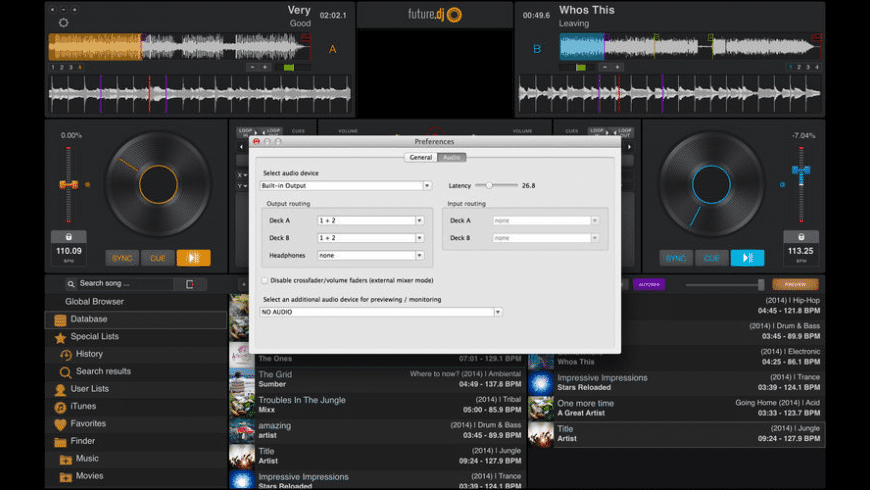 future.dj for Mac - review, screenshots