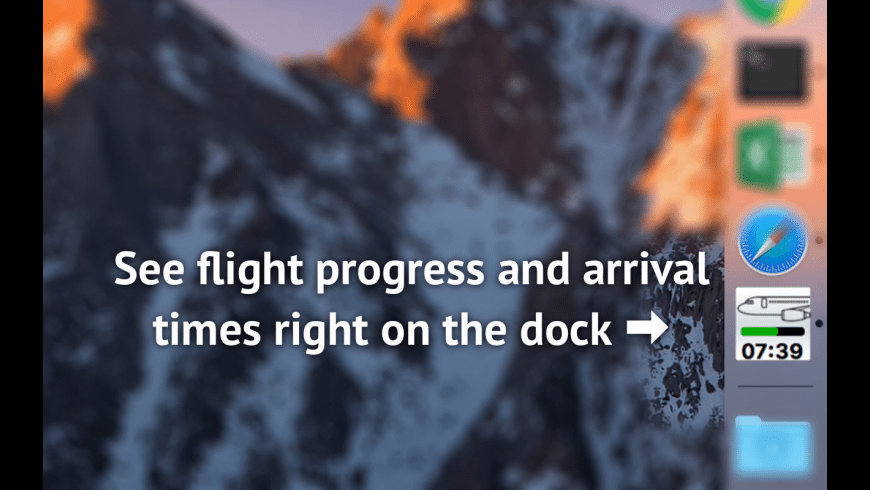 Flight status tracker for Mac - review, screenshots
