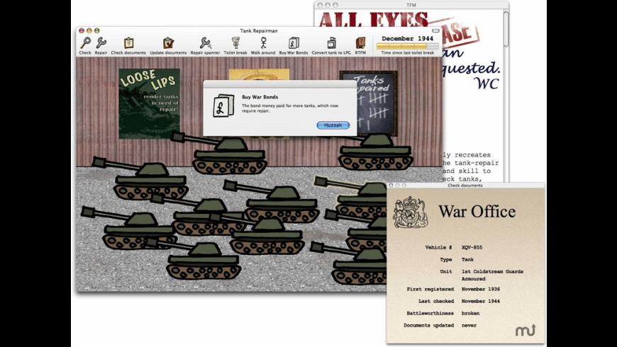 Tank Repairman 1942 for Mac - review, screenshots