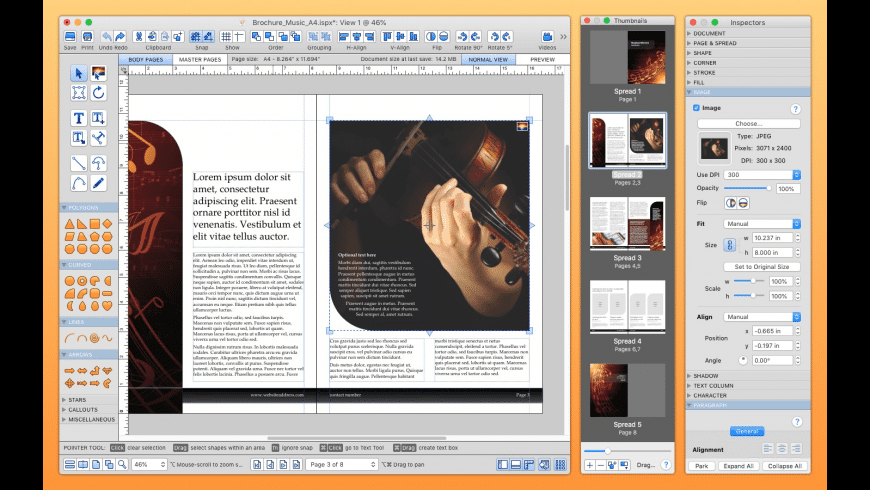 iStudio Publisher (Family 3 Pack) for Mac - review, screenshots
