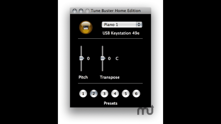 Tune Buster for Mac - review, screenshots