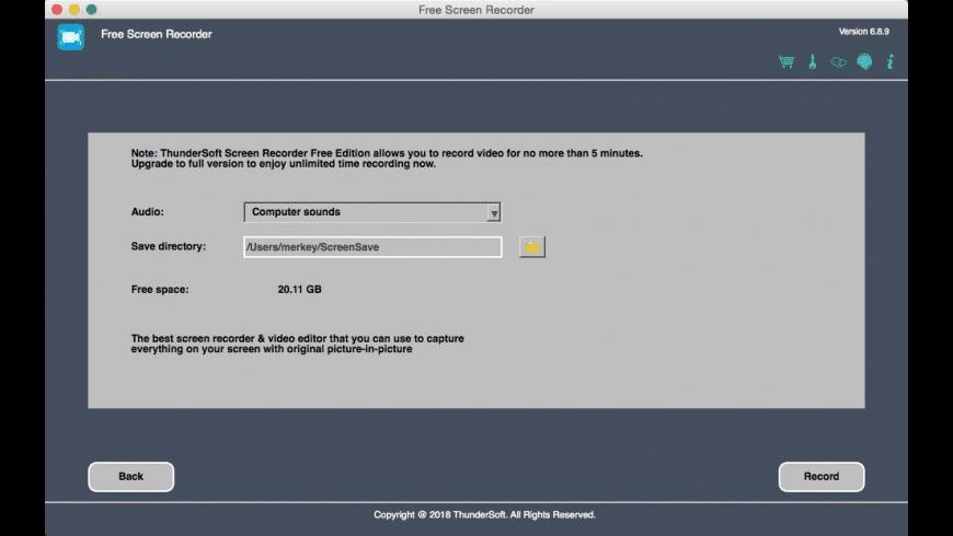 Screen Recorder for Mac - review, screenshots
