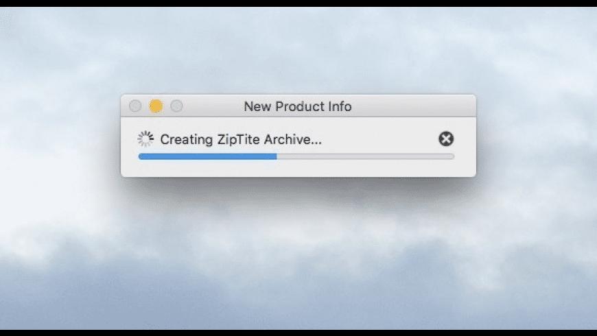 ZipTite for Mac - review, screenshots
