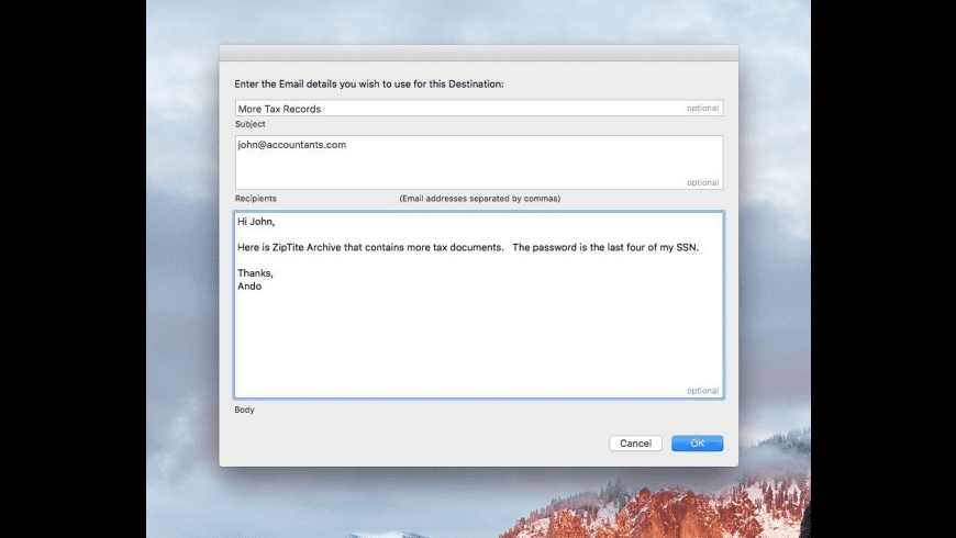 ZipTite for Mac - review, screenshots