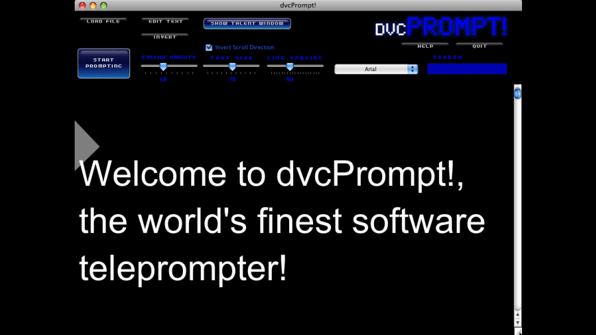 dvcPrompt! for Mac - review, screenshots