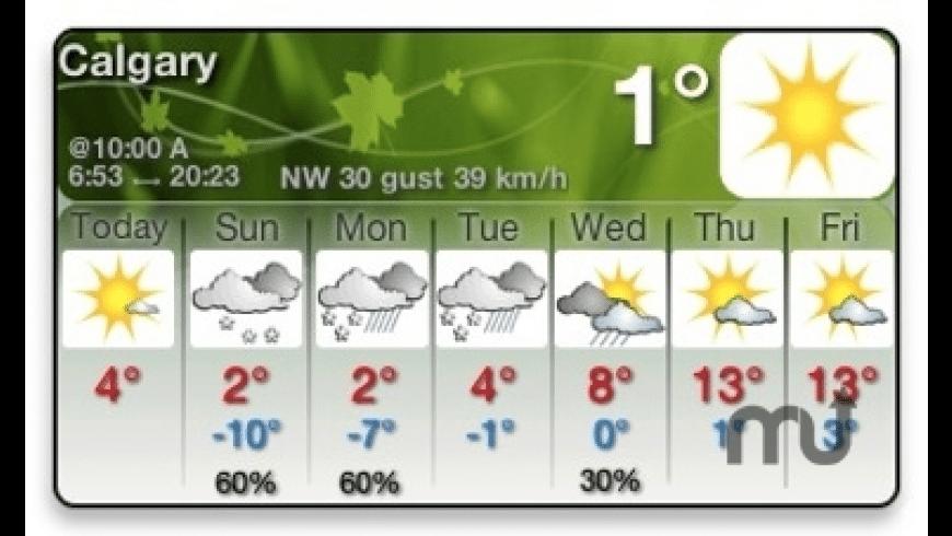WeatherOffice for Mac - review, screenshots