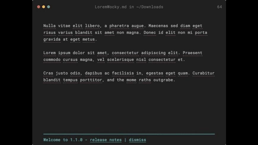 Caret for Mac - review, screenshots