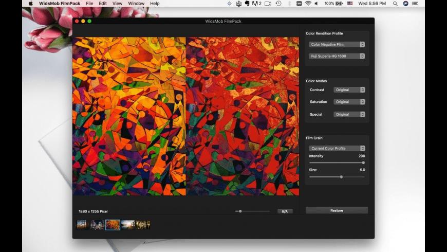 WidsMob FilmPack for Mac - review, screenshots