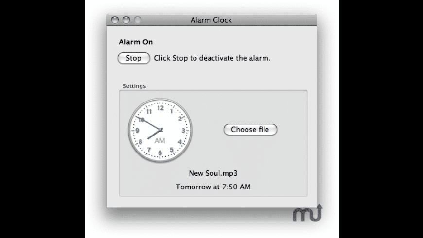 Wake Up for Mac - review, screenshots
