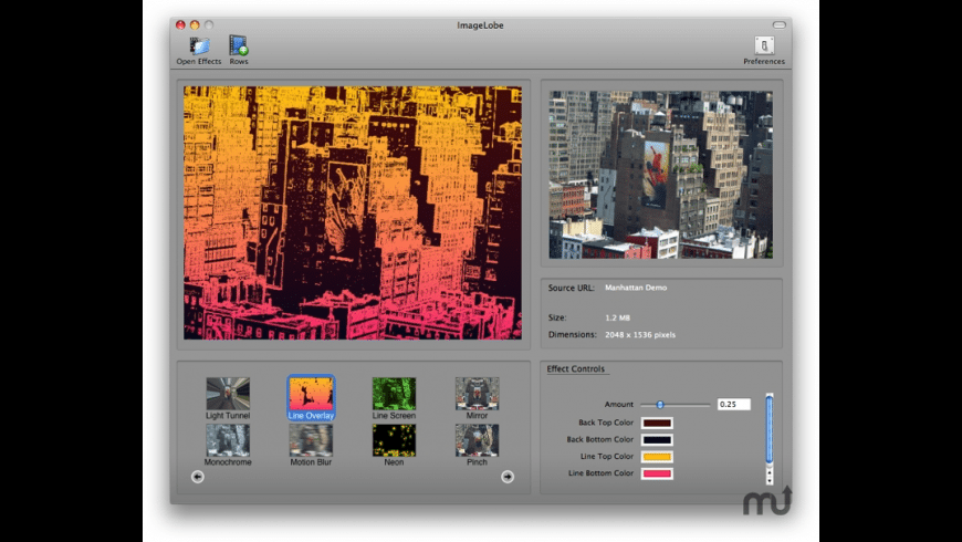 ImageLobe for Mac - review, screenshots