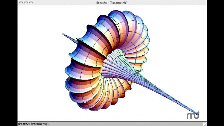 3D-XplorMath-J for Mac - review, screenshots