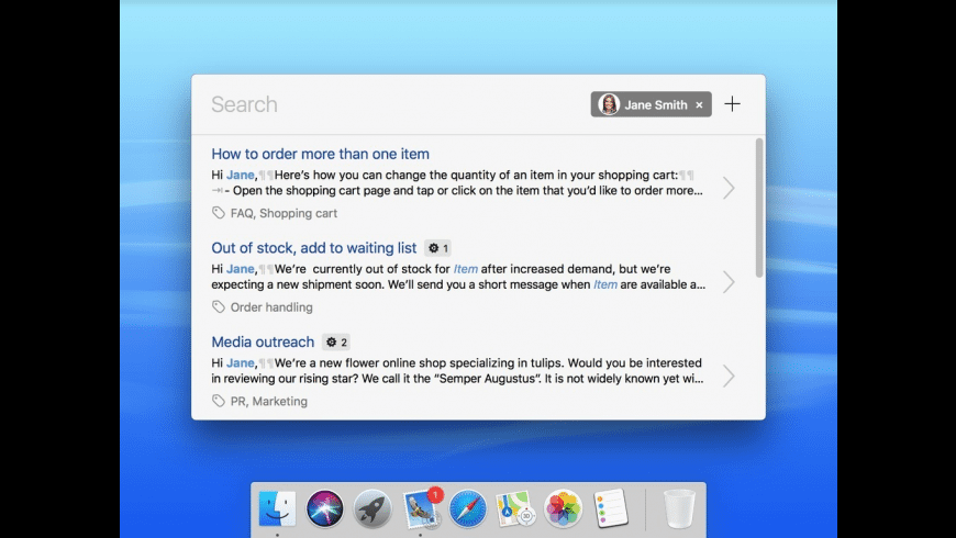 Text Blocks for Mac - review, screenshots