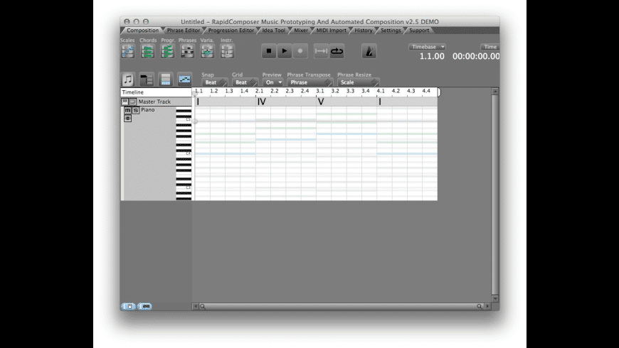 RapidComposer for Mac - review, screenshots