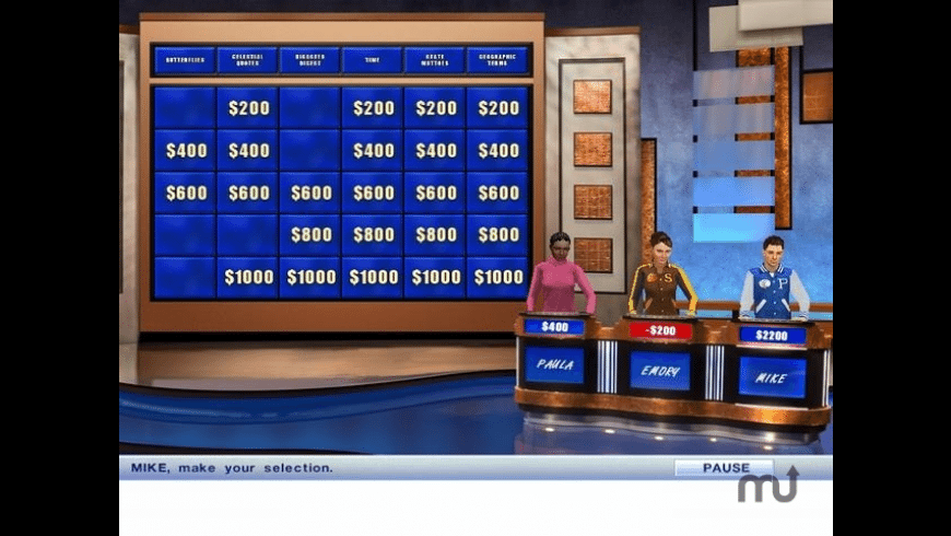 Jeopardy! Deluxe for Mac - review, screenshots