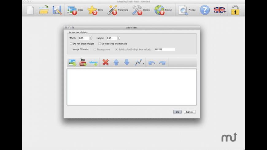 AmazingSlider for Mac - review, screenshots