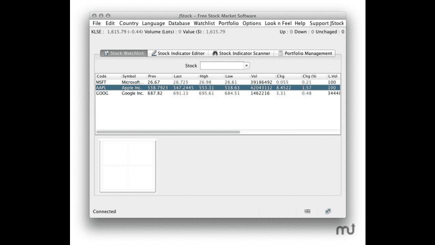JStock for Mac - review, screenshots