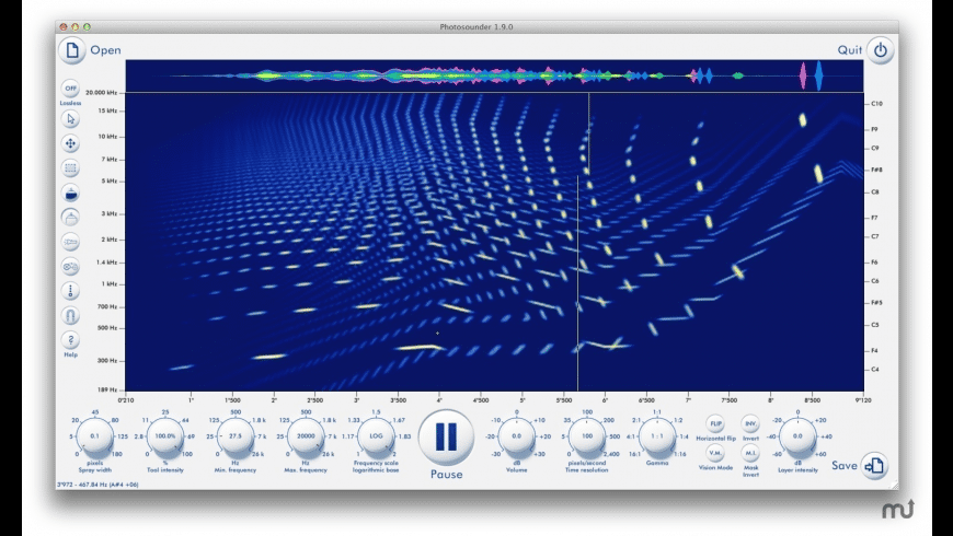 Photosounder for Mac - review, screenshots