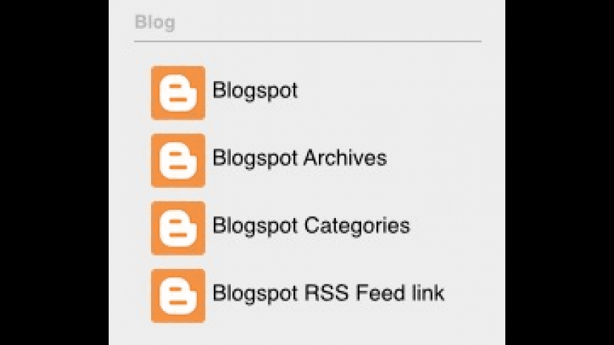Blogspot.stack for Mac - review, screenshots
