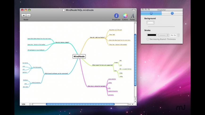 MindNode Lite for Mac - review, screenshots