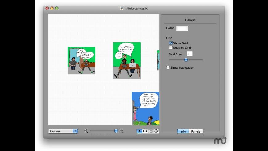 InfiniteCanvas for Mac - review, screenshots