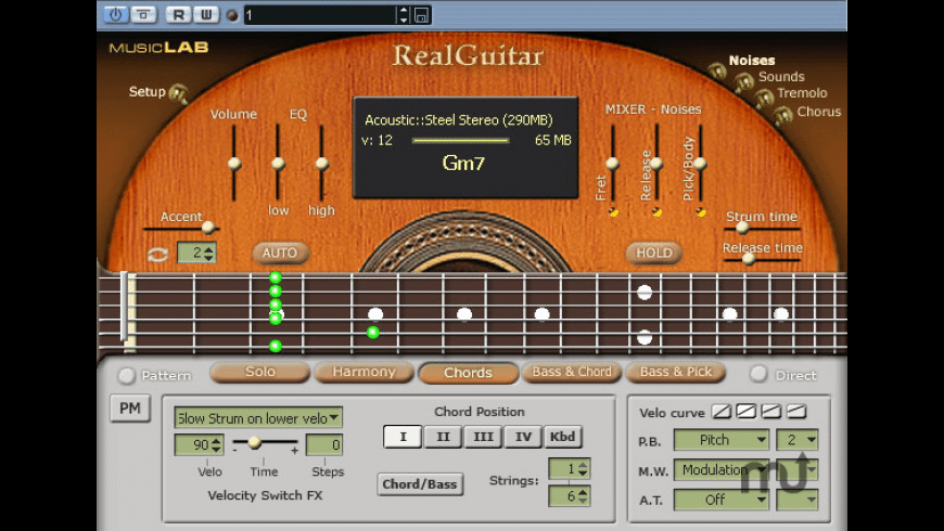 RealGuitar for Mac - review, screenshots