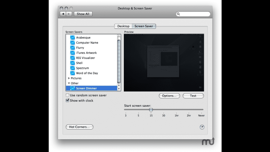Screen Dimmer for Mac - review, screenshots