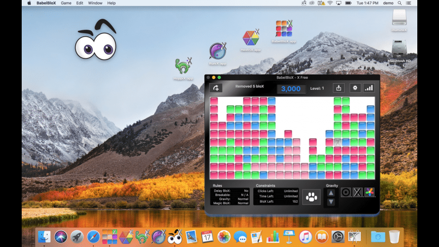 BabelBloX for Mac - review, screenshots
