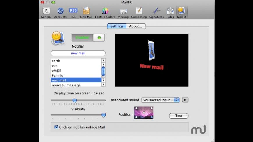 MailFX for Mac - review, screenshots
