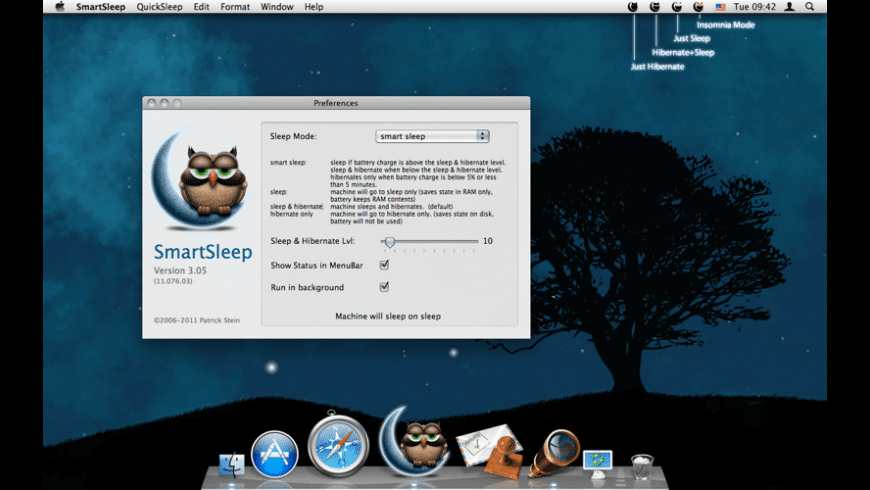 SmartSleep for Mac - review, screenshots