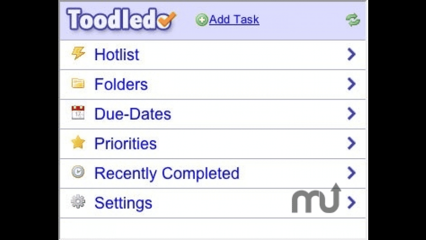 Toodledo for Mac - review, screenshots