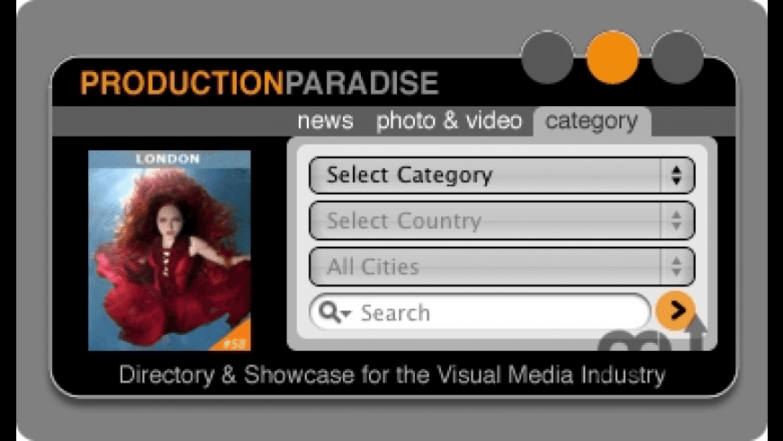 Production Paradise Search Widget for Mac - review, screenshots