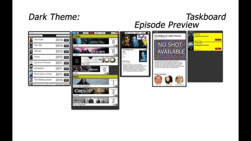 tTV for Mac - review, screenshots
