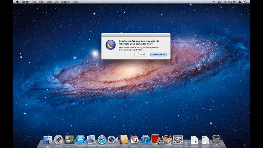DeepSleep for Mac - review, screenshots