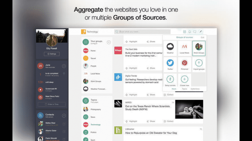 FlashBeing for Mac - review, screenshots