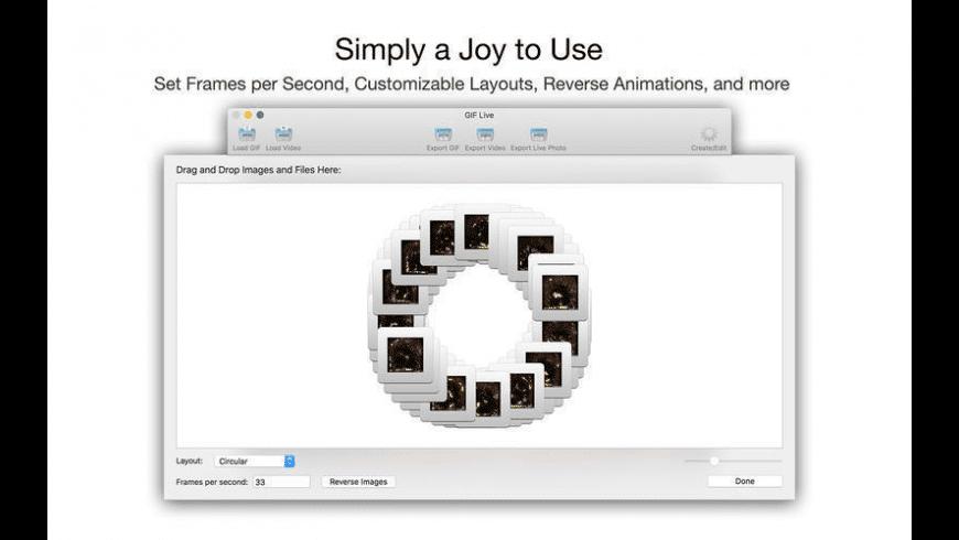 GIF Live for Mac - review, screenshots