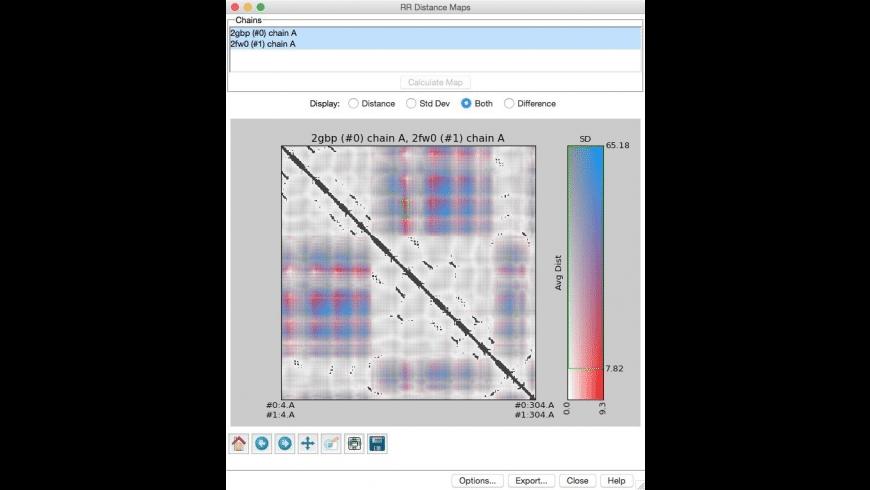 UCSF Chimera for Mac - review, screenshots
