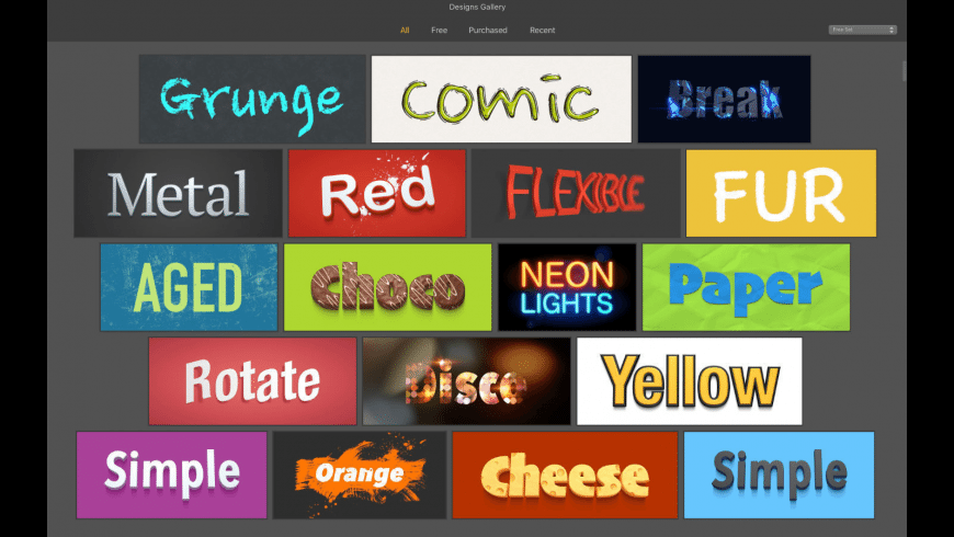 Letters for Mac - review, screenshots