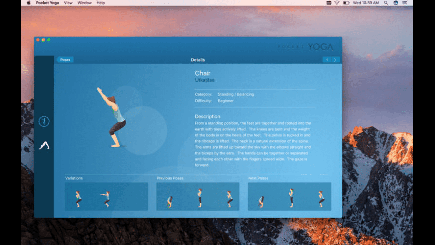 Pocket Yoga for Mac - review, screenshots