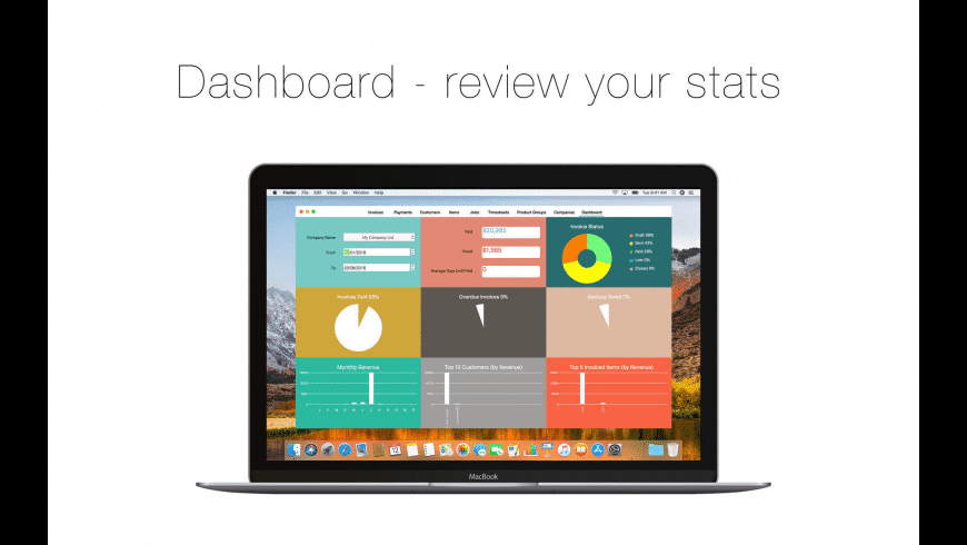 Bee Invoicing for Mac - review, screenshots