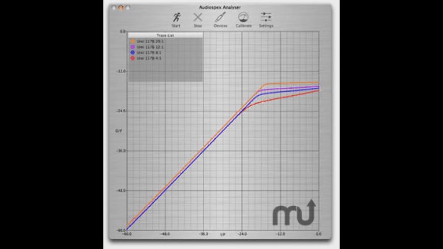 Audiospex for Mac - review, screenshots