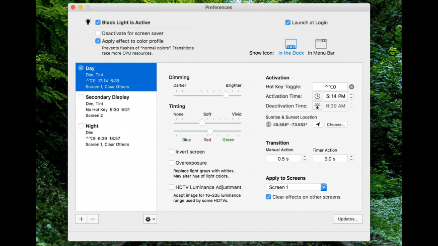 Black Light Pro for Mac - review, screenshots