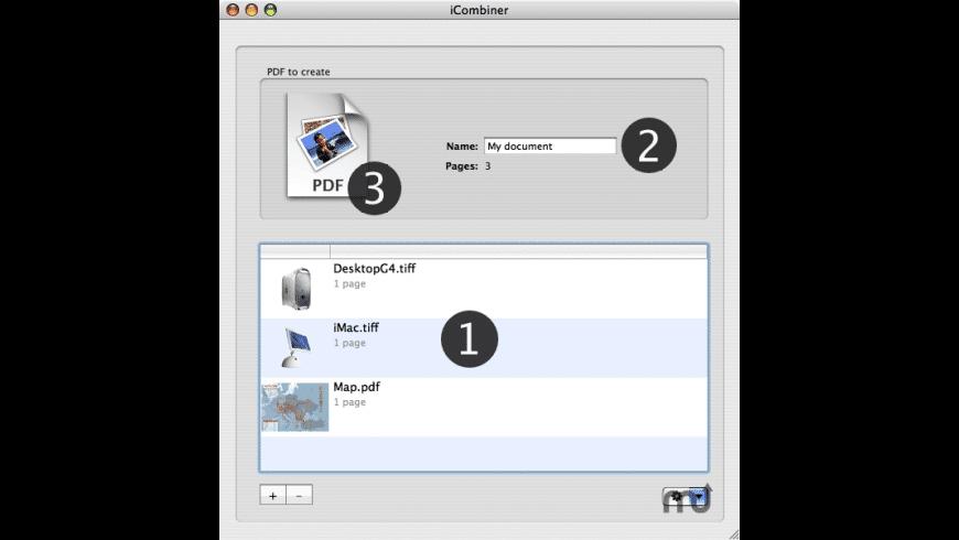 iCombiner for Mac - review, screenshots