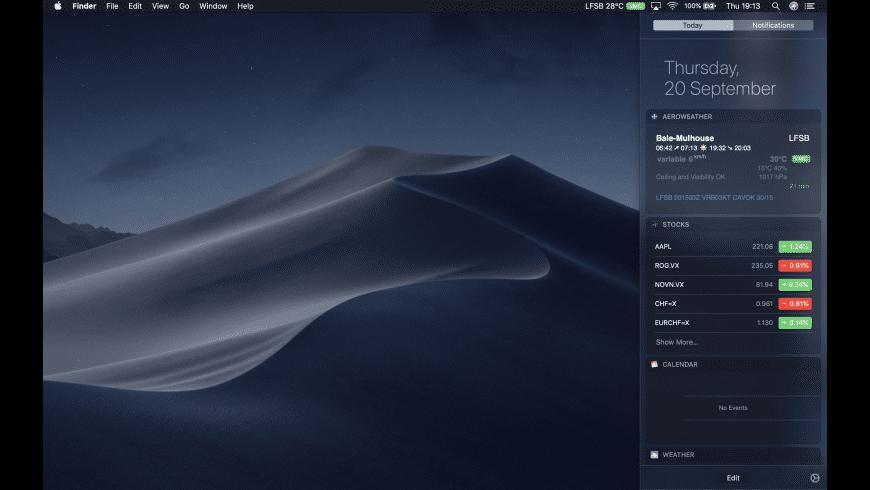 AeroWeather for Mac - review, screenshots