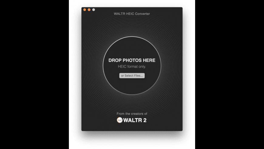 WALTR HEIC Converter for Mac - review, screenshots