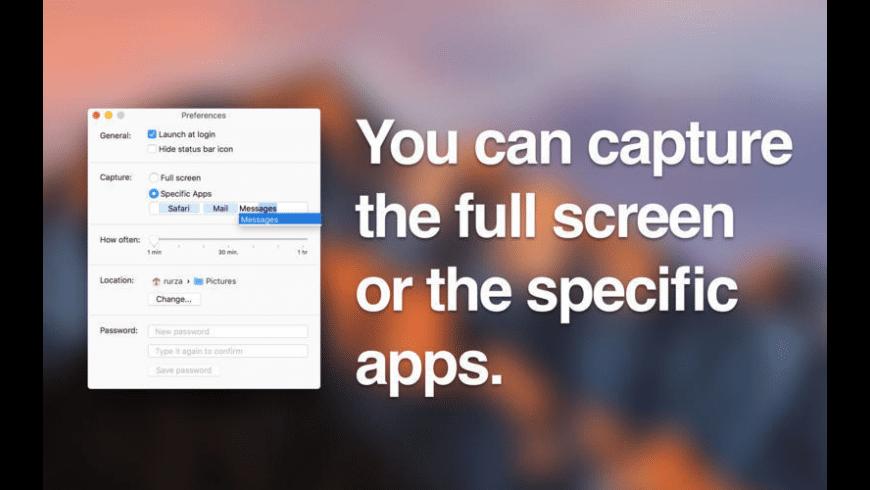 Capturer - auto screenshots for Mac - review, screenshots
