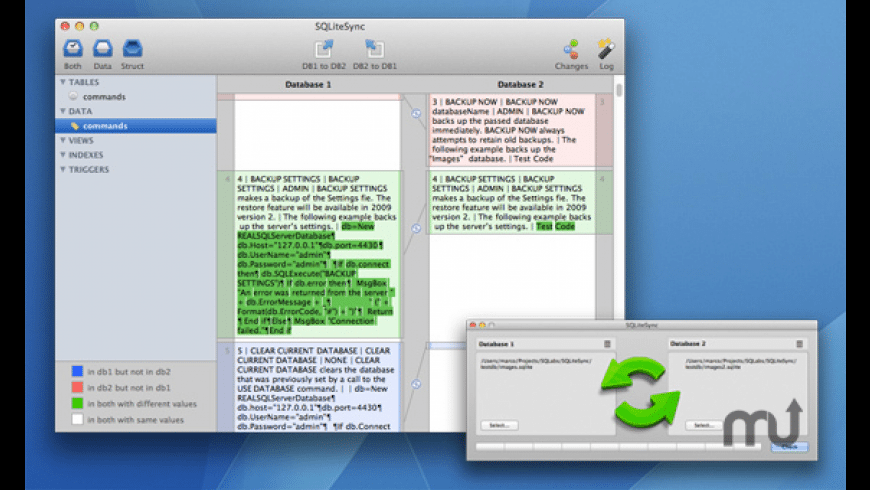 SQLiteSync for Mac - review, screenshots