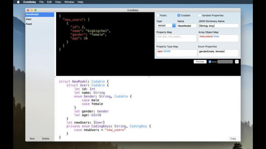 CuteBaby for Mac - review, screenshots