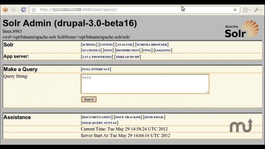 BitNami Apache Solr Stack for Mac - review, screenshots