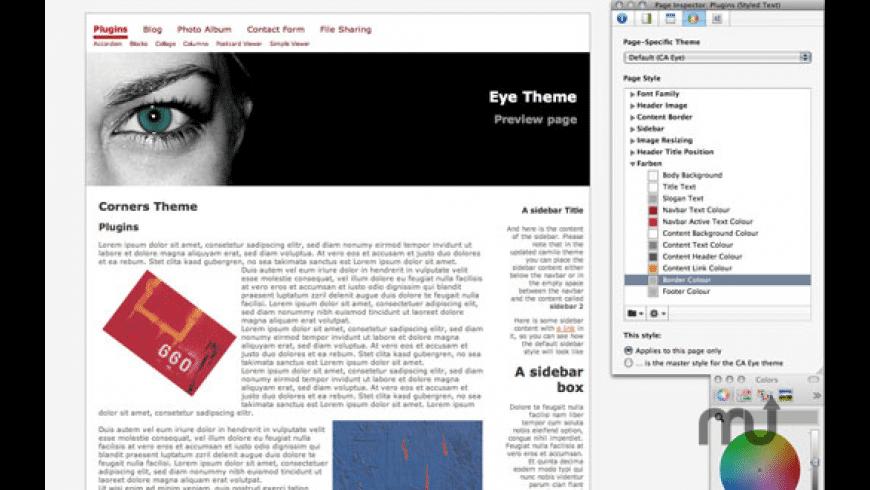 Eye Theme for Mac - review, screenshots